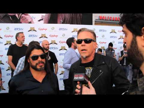METALLICA Interview, Revolver Golden Gods 2013 on Metal Injection