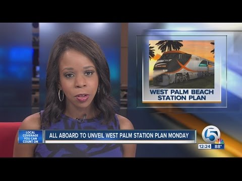 All Aboard Florida to unveil West Palm station