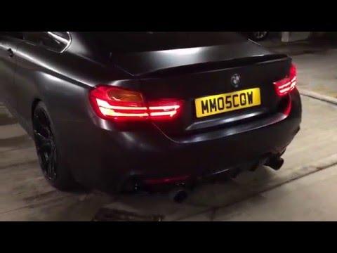 2015 BMW 435i M Sport with Akrapovic Exhaust
