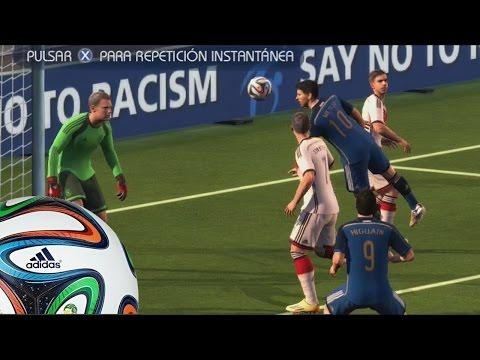 2014 Fifa World Cup Gameplay Xbox 360 - Argentina Vs Alemania - Partidazo por la revancha