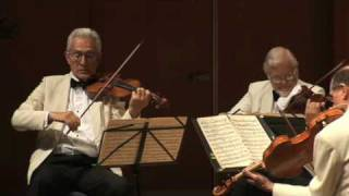 Guarneri Quartet / David Shifrin - Brahms Clarinet Quintet, Movt. 1 Part 2 & Movt. 2 Part 1