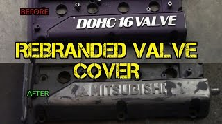 TFS: How to Re-brand a Valve Cover