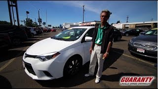 2015 Toyota Corolla LE • GuarantyCars.com