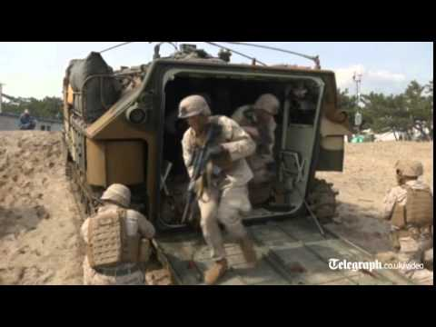 South Korea and US conduct joint amphibious landing drill