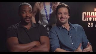 Anthony Mackie & Sebastian Stan Best Moments 3
