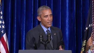 Obama: Being president is serious business