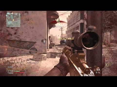 MW3 - Across Map Final Stand No-Scope Collateral