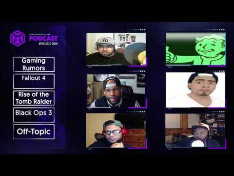 GMG Show Live Ep. 94 - Fallout 4, Black Ops 3, Rise of the Tomb Raider, First Impressions