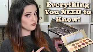 Coloured Raine - Queen of Hearts Palette FULL REVIEW! EVERYTHING You Need To Know | Jen Luvs Reviews