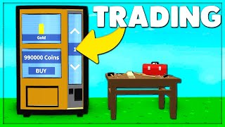 NEW UPDATE - TRADING, VENDING MACHINE, QUESTS & MORE (Roblox Skyblock)