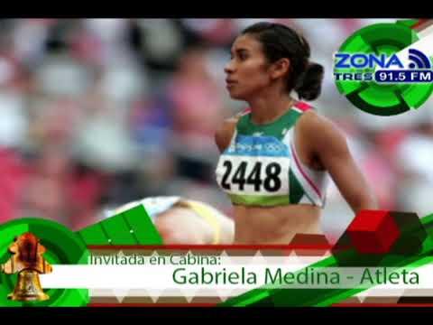Zona Deportiva Velocista Gabriela Medina Aspiraciones en el Atletismo Mundial