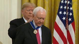 President Trump awards Medal of Freedom