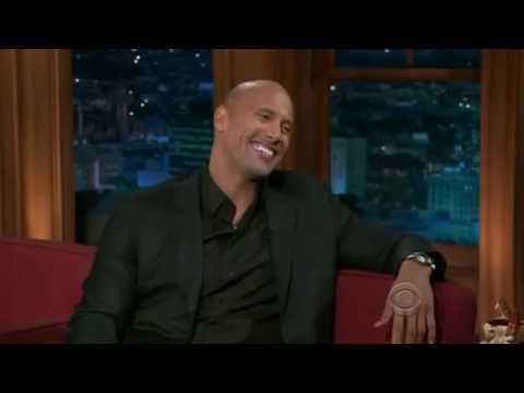 Dwayne Johnson on Craig Ferguson 2010