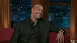 "Dwayne ""The Rock"" Johnson on Craig Ferguson 2010"