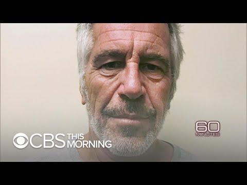 60 Minutes goes inside Jeffrey Epstein's cell, Sunday