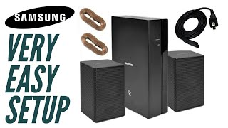 01. How to Set Up a Samsung Rear Speaker Kit