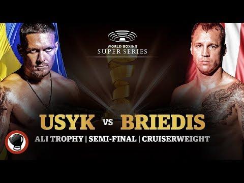 Oleksandr Usyk v Mairis Briedis - WBSS Cruiserweight Semi Final Preview