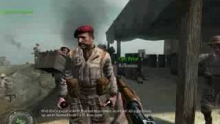 Captain Price In Call of Duty 2