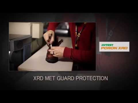 Poron Xrd Metatarsal Guard Testing Procedures video