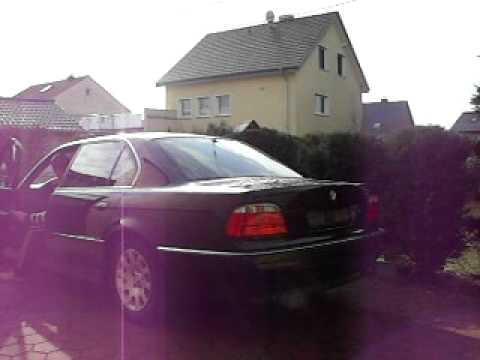 Bmw E38 750iL Sound 326PS V12 Alpina Killer Maschiene 740 iL 740i 750i 750iL