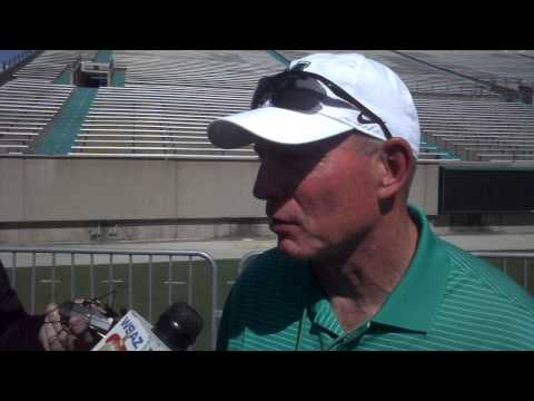 Doc Holliday Post-Spring Game