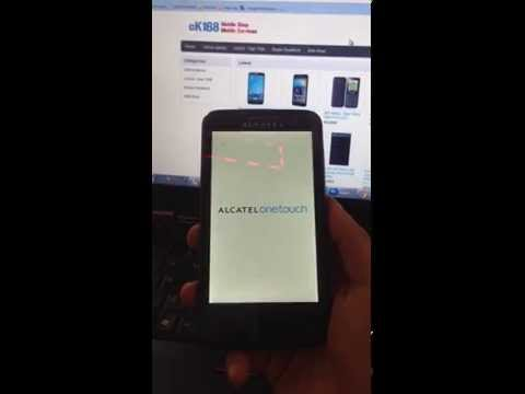 How to HARD RESET Alcatel One Touch Soleil OT-5021E