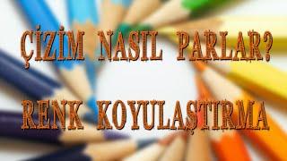 Çizim Dersi | Renk Koyulaştırma, Parlatma | Ulaş Özcan Kanalı