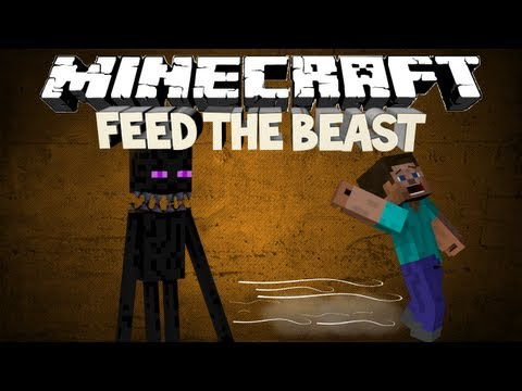Minecraft: Feed The Beast - SLENDERMAN IN THE TWILIGHT FOREST! (Part 2)