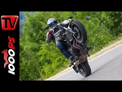 Yamaha MT 07 - Testvideo | Action, Sound, Fazit- 2014