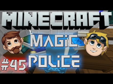 Minecraft Magic Police #45 - Epic Watering Can POV (Yogscast Complete Mod Pack)