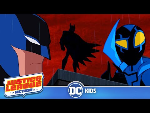 Justice League Action | I Am Young Batman! | DC Kids