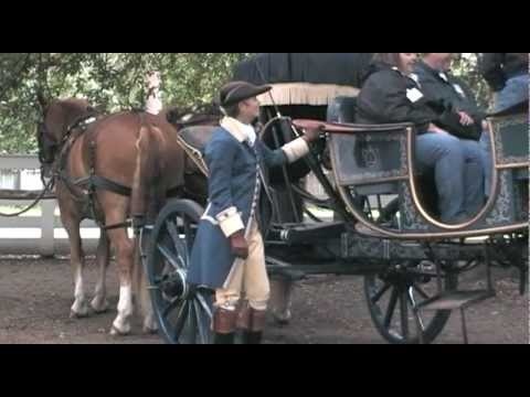 Horse-drawn Carriage Rides at Colonial Williamsburg, Virginia