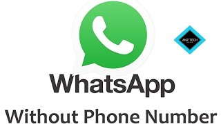#HINDI How To Use WhatsApp Without Phone Number  Register whats app without SIM ( US No.  Fake No.)