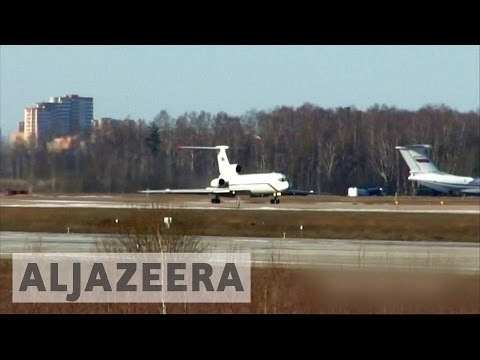 Russian plane crash: No sign of survivors