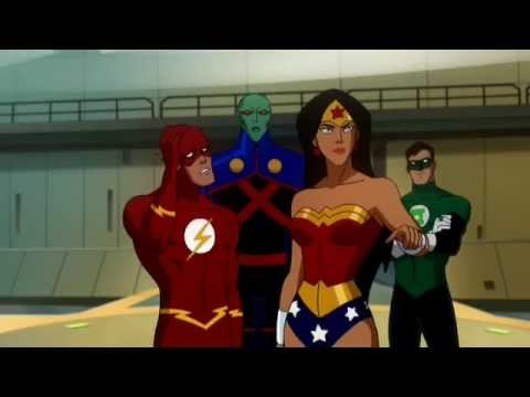 Flash lol - Justice league : crisis on two earths Video