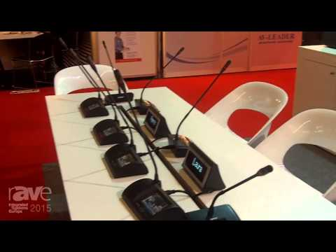 ISE 2015: HTDZ Highlights One of Their Wireless Conference Systems