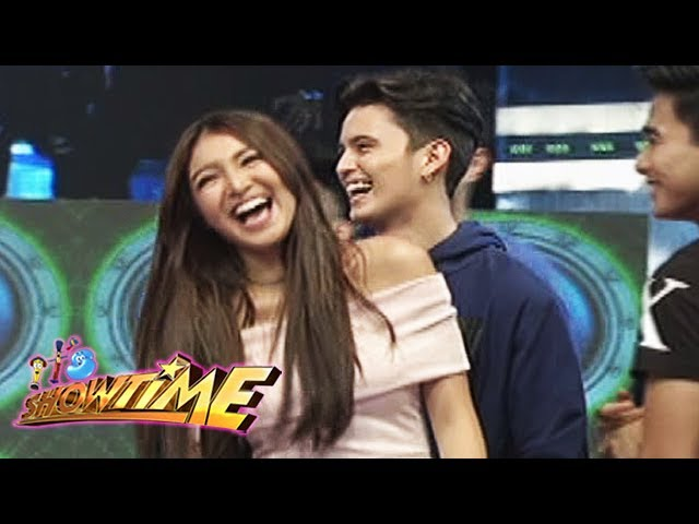 It's Showtime: James' protective girlfriend