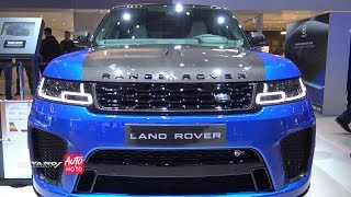 2019 Range Rover Sport SVR 5.0L V8 Super Charged 575ch - Exterior And Interior -  2018 Paris