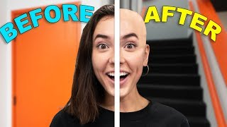 Going Bald For A Day!