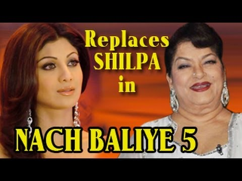 Watch Saroj Khan REPLACES Shilpa Shetty in NACH BALIYE 5 16th February 2013 FULL EPISODE