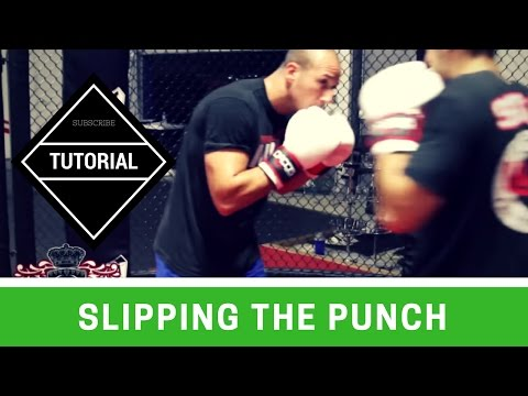 Boxing Basics: Slipping the punch (Drill) Image 1