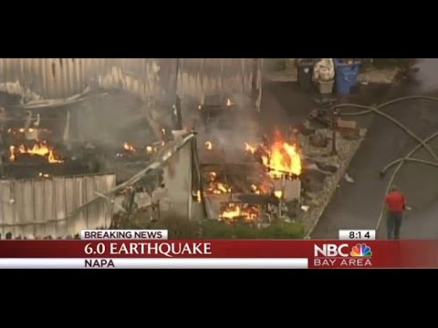 CA Earthquake Updates Downtown Napa Injuries Structural Damage Fires Aftershocks In Wine Country