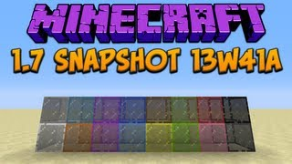 Minecraft 1.7: Snapshot 13w41a Stained Glass & Server Icons