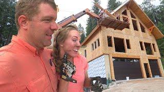 YOUNG COUPLE BUILDS THEIR OWN DREAM HOUSE