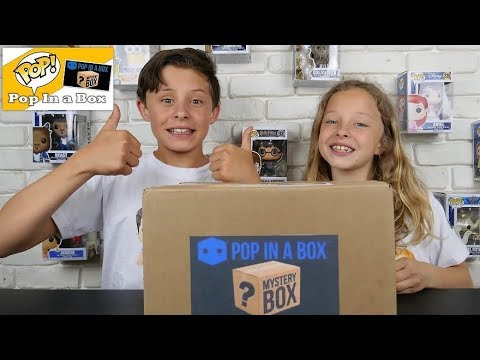 UNBOXING POP IN A BOX