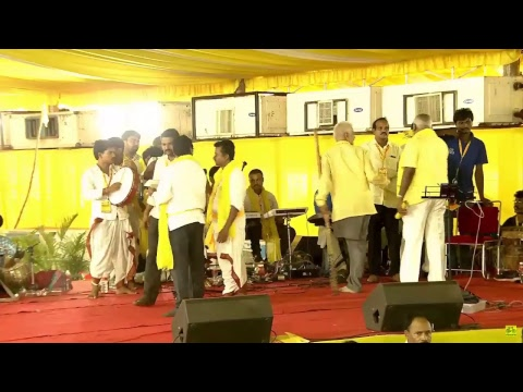 CM Nara Chandrababu Naidu live from the Telugudesam party Mahanadu - 2018, Vijayawada