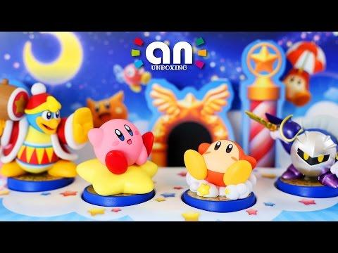Kirby Series amiibo Diorama | Nintendo Inquirer Unboxing (4K)