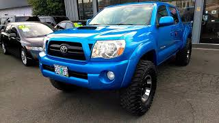 2007 TOYOTA TACOMA TRD OFF-ROAD SPORT SR5 LIFTED