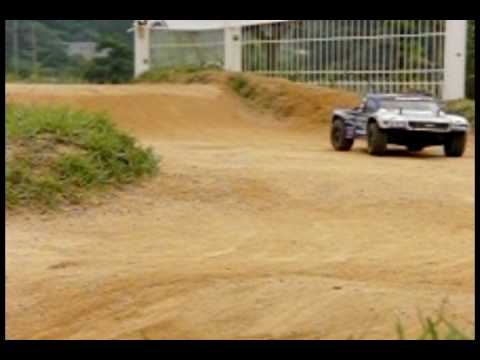 RC Rally Car Video(slow motion)