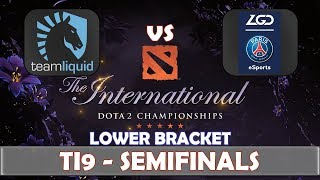 Liquid vs LGD | Semifinals The International 2019 | Dota 2 TI9 LIVE | Main Event Final Day